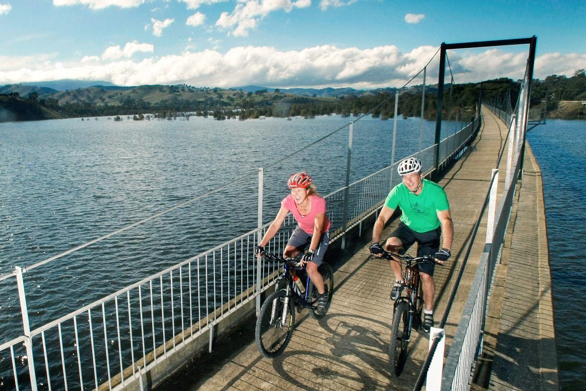Boonie doon bridge great victorian rail trail