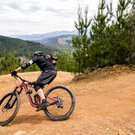 Ride High Country mountain bike Hero trail in Bright, Victoria