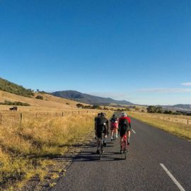 Ride High Country road ride in Myrtleford