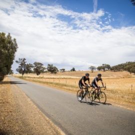 Ride High Country road ride in Wangaratta