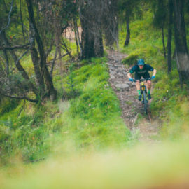 Ride High Country mountain bike trail Big Hill DH in Mt Beauty