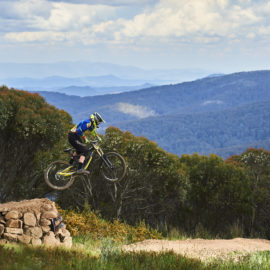 Ride High Country mountain bike trail International at Mt Buller